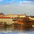 Foto Stock: View of Prague Castle