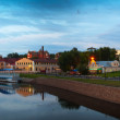 Ivanovo in summer evening. Russia — Stock Photo