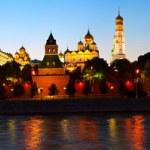 Panorama of Moscow Kremlin — Stock Photo