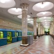 Постер, плакат: Interior of metro station in Moscow