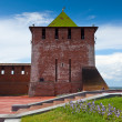 Kremlin wall at Nizhny Novgorod — Stock Photo #13645206