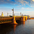 Palace Bridge in morning — Stock Photo