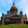 St. Isaac's Cathedral in summer — Stockfoto