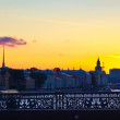 View of St. Petersburg in morning - Stock Photo