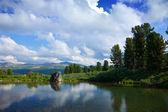 Bergen meer — Stockfoto