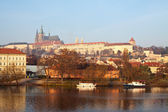 Morning view of Prague — Stock Photo
