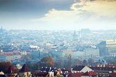 Morning view of Prague — Stock Photo