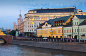 Historical district of Moscow — Stock Photo