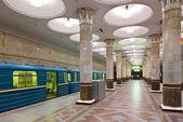 Moskova metro istasyonu iç — Stok fotoğraf