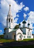 церковь святого николая в ярославль летом — Стоковое фото