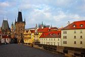 Day view of Charles bridge. Prague — Stock Photo