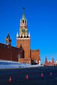 Spasskaya torre del Cremlino — Foto Stock