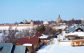 View of Suzdal in winter — Stock Photo