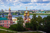 Historic district of Nizhny Novgorod — Stock Photo