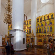 Stock fotografie: Interior of Assumption cathedral at Yaroslavl. Russia