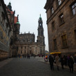 Historical center of   Dresden - Stock Photo