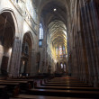 Interior of Saint Vitus Cathedral — Lizenzfreies Foto