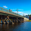 Ioannovsky Bridge in Peter and Paul Fortress — Stock Photo