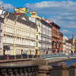 View of St. Petersburg. Embankment of Griboyedov Canal — Stock Photo #13655109