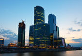 Moscow International Business Center in summer morning — Stock Photo