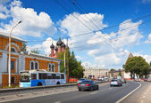 Street in old Yaroslavl — Stock Photo