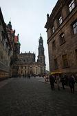 Historical center of Dresden — Stock Photo
