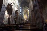 Wnętrze Święty vitus Katedrala — Zdjęcie stockowe