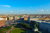 St. Petersburg from Saint Isaac's Cathedral — Stock Photo