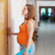 Pregnant woman comes to the doctor — Stock Photo #13664382