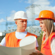 Portrait of two workers — Stock Photo #13665666