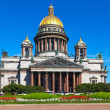 Saint Isaac's Cathedral in St. Petersburg - Stock Photo