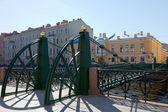 Pochtamtsky Bridge across Moika River in Saint Petersburg — Stock Photo