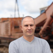 Portrait of tractor operator — Stockfoto #15261415