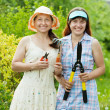 Female gardeners   — Stock Photo