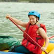 Rafting on raft — Stock Photo #15261879
