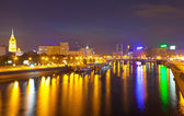 View of Moscow in simmer night — Stock Photo