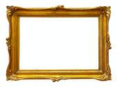Cornice oro — Foto Stock