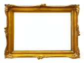 Gold picture frame — Foto de Stock