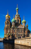 Church of the Savior on Blood in summer — Stock Photo