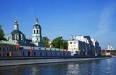 View of Moscow. Church of St. Nicholas — Stock Photo