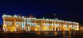 Winter Palace in night — Stock Photo