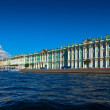 View of St. Petersburg. Winter Palace from Neva — Stock Photo