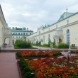 Garden at roof of Winter Palace  — Stock Photo