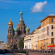 Saint Petersburg. Church of the Savior on Blood in summer - Zdjęcie stockowe