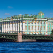 View of St. Petersburg. Winter Palace from Neva — Stock Photo #18199805