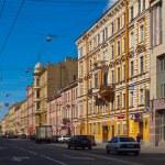 widok z Sankt Petersburga. Ulica Gorohovaya — Zdjęcie stockowe