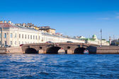 View of St. Petersburg. Prachechny Bridge — Stock Photo