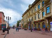 Old street in Nizhny Novgorod — Stock Photo