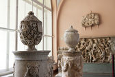 Ancient sculptures in State Hermitage — Stock Photo