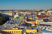 Top view of St. Petersburg. Russia — Stock Photo